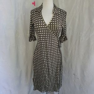 Ann Taylor wraparound dress